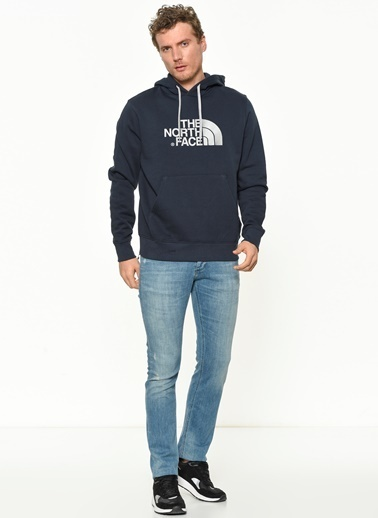 The North Face Kapşonlu Sweatshirt Lacivert